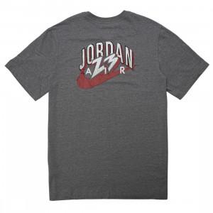 Jordan Men 23 Swoosh Tee (carbon heather)