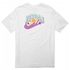 Jordan Men 23 Swoosh Tee (white)