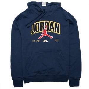 Jordan Men Jumpman Pullover Hoody (midnight navy)