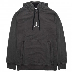 Jordan Men Dri-FIT Air Fleece Pullover Hoody (black / white)