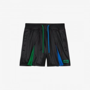 Jordan Women Jordan x Aleali May Pleated Shorts (black / game royal / pine green)