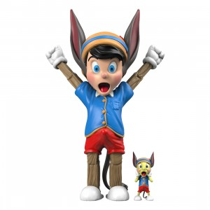 PREORDER - Mighty Jaxx A Wood Awakening Donkey by Juce Gace BFF Edition Figure (blue)