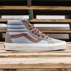Vans Men Sk8-Hi Reissue DX - Brushed (blue / blmrg)