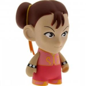 Kidrobot Street Fighter 3 Inch Mini Series Chun Li Figure - 1/20 Ratio (pink)