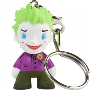Kidrobot x DC Universe Joker 1.5 inches Keychain (purple)