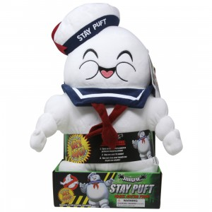 Kidrobot Ghostbusters Stay Puft Marshmallow Man HugMe Plush (white)