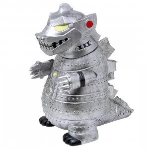 Kidrobot x Godzilla MechaGodzilla Battle Ready Edition 8 Inch Art Figure (silver)