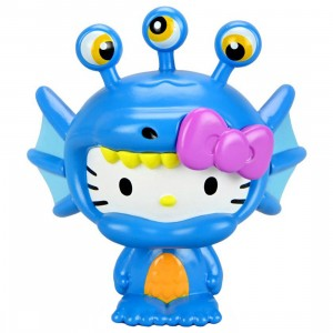 Kidrobot Hello Kitty Kaiju 3 Inch Mini Figure Series - Aquados Blue Wave (blue)