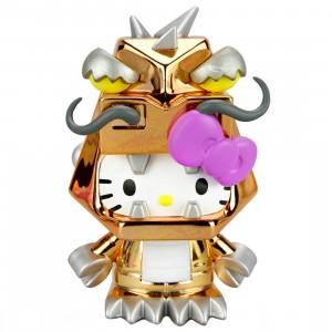Kidrobot Hello Kitty Kaiju 3 Inch Mini Figure Series - Kitzilla Orange (gold)