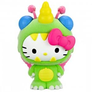 Kidrobot Hello Kitty Kaiju 3 Inch Mini Figure Series - Unibee Green (green)