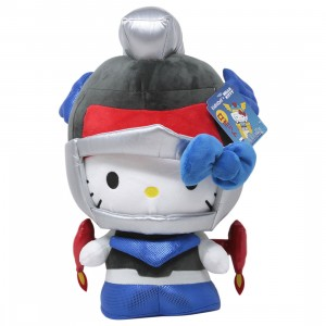 Kidrobot x Sanrio Hello Kitty Cosplay Kaiju Mechazoar Knight Plush (blue)