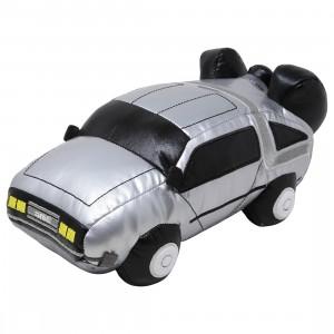 Kidrobot Back To The Future DeLorean Time Machine 11 Inch Plush (silver)