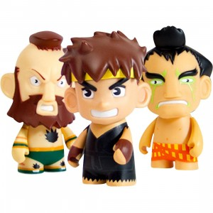Kidrobot x Street Fighter 3 Inch Mini Series 2 Figure - 1 Blind Box
