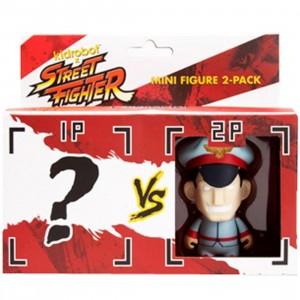 Kidrobot x Street Fighter M Bison Mini Figure 2 Pack - 1 Blind Box
