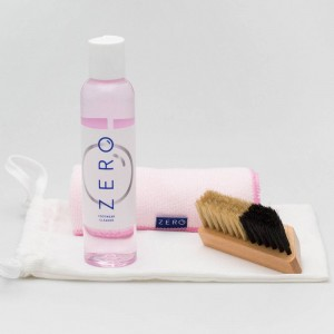 Zero Footwear Cleaner Kit With Brush And Towel