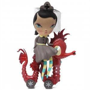 Kidrobot x Kathie Olivas Lucy Curious Dark Harbor Art Figure (brown)