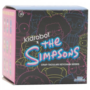 Kidrobot x The Simpsons Crap-Tacular! Keychain Series - 1 Blind Box