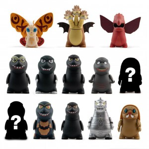 Kidrobot Godzilla King Of The Monsters Mini Figure Series - 1 Blind Box