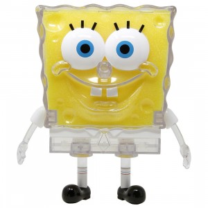 Kidrobot x Nickelodeon SpongeBob SquarePants Shellebration Figure - Clear Edition (yellow / clear)