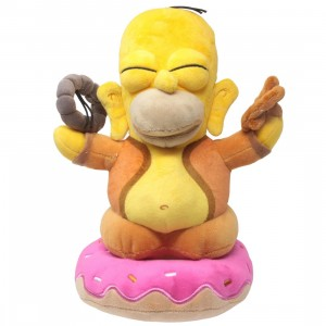 Kidrobot x The Simpsons Homer Buddha 10 Inch Plush (yellow)