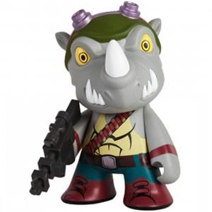Kidrobot x TMNT Rocksteady 7 Inch Medium Figure (gray)