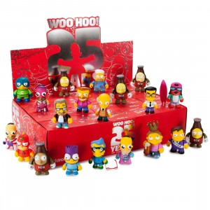 Kidrobot x Simpsons The Simpson's 25th Anniversary Mini Series Figures -1 Blind Box