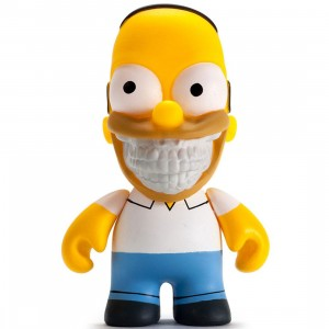 Kidrobot x The Simpsons x Ron English Grin Homer 3 Inch Figure (yellow)