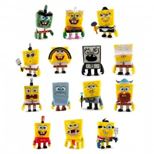 Kidrobot x SpongeBob SquarePants  Many Faces Of SpongeBob Vinyl Mini Figure Series - 1 Blind Box