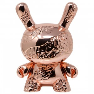 Kidrobot x Tristan Eaton Rose Gold New Money 5 Inch Metal Dunny Figure (pink / rose gold)