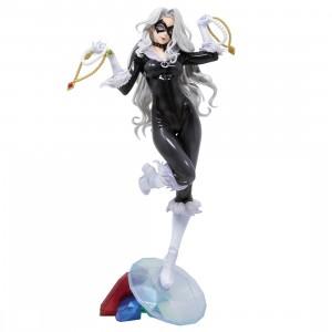 Kotobukiya Marvel Black Cat Steals Your Heart Bishoujo Statue (black)