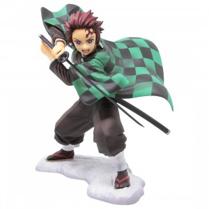 Kotobukiya ARTFX J Demon Slayer Tanjiro Kamado Statue (green)