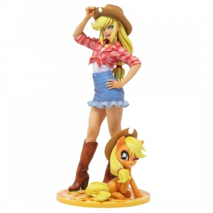 Kotobukiya My Little Pony Applejack Bishoujo Statue (tan)
