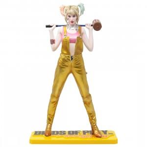 Kotobukiya ARTFX DC Universe Birds Of Prey Harley Quinn Statue (gold)
