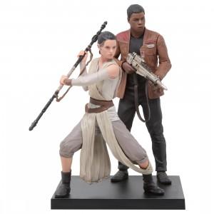Kotobukiya ARTFX+ Star Wars The Force Awakens Rey And Finn Statue (brown)