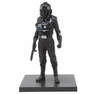 Kotobukiya ARTFX+ Star Wars A New Hope Tie Fighter Pilot Statue (black)