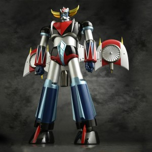 Evolution Toy Grand Action Big Size Model Grendizer Figure (silver)