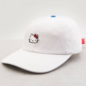 Lazy Oaf x Hello Kitty Bow Tie Cap (white)