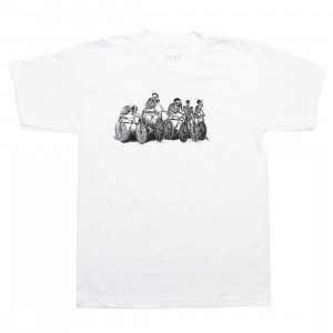 La Carrera Cycling Club Men Friends and Family Tee (white)