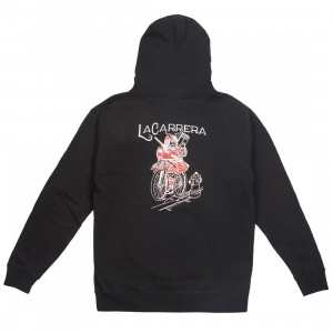 La Carrera Men Look Ma No Brakes Hoody (black)
