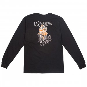 La Carrera Men Samurai King LMNB Long Sleeve Tee (black / orange)
