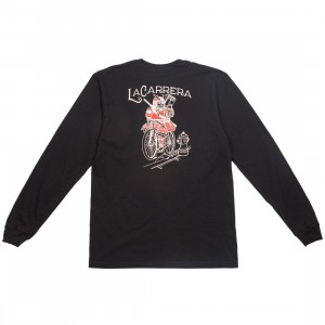 La Carrera Men Samurai King LMNB Long Sleeve Tee (black / red)