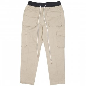 Lifted Anchors Men Alexandria Crop Pants (brown / tan)