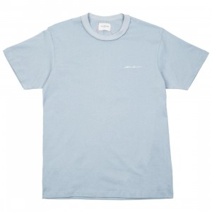 Lifted Anchors Men Logo Tee - BAIT Exclusive (blue / dusty)