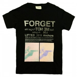 Lifted Anchors Men Forget Me Tee (black)