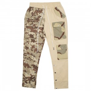 Lifted Anchors Men Harington Split Camo Pants (khaki / tan)