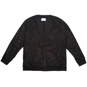 Lifted Anchors Men Iman Cardigan Sweater (black)
