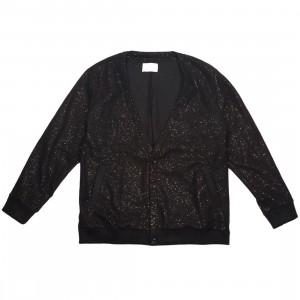 Lifted Anchors Men Iman Cardigan Sweater (black)