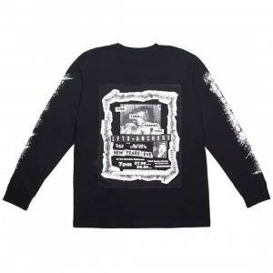 Lifted Anchors Men Flyer Long Sleeve Tee (black)