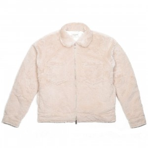 Lifted Anchors Men Fowe Jacket (white / tan)