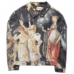 Lifted Anchors Men Graces Denim Jacket (multi)